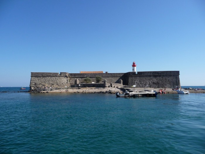 Le fort Brescou 25 minutes de la location de vacances