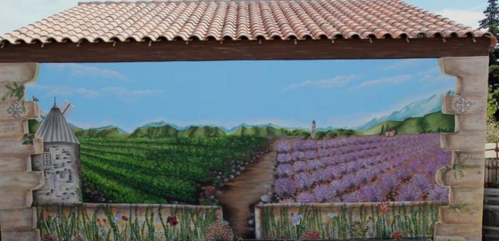 Trompe Œil de la location de vacances dans l'Hérault